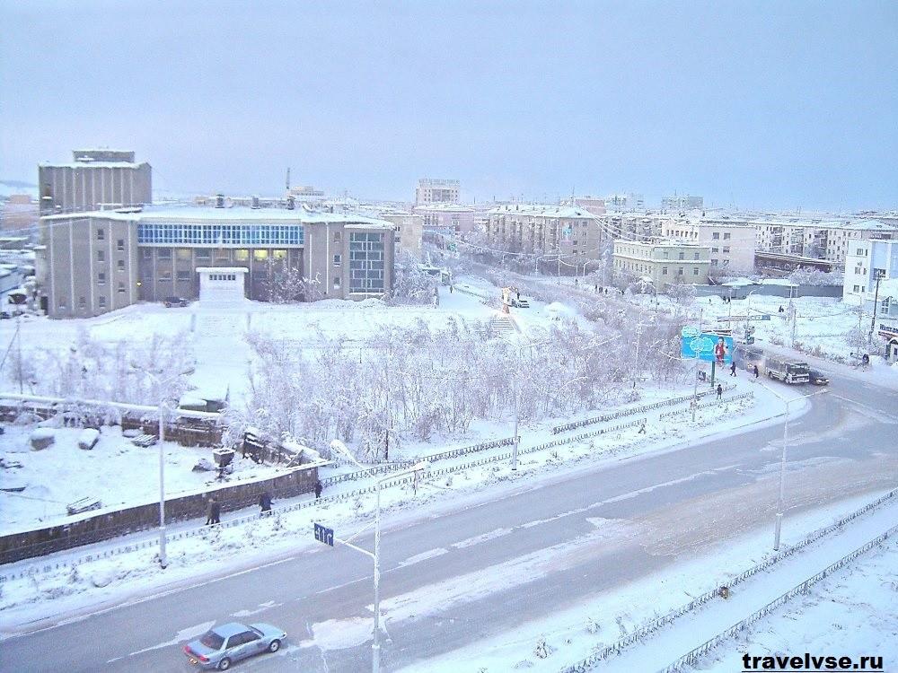 Якутск — один из наиболее холодных городов в мире