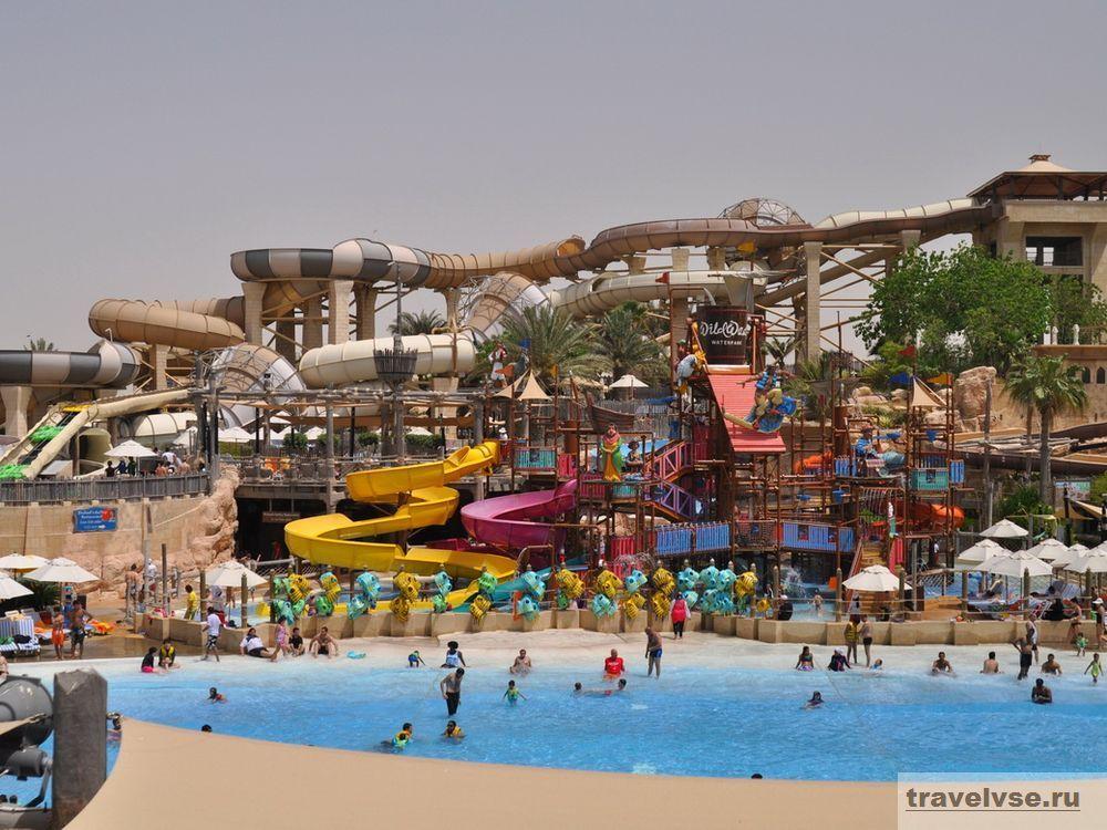 Аквапарк в ОАЭ