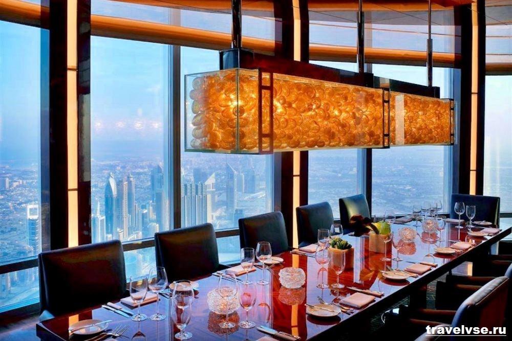 Ресторан Atmosphere в Дубае