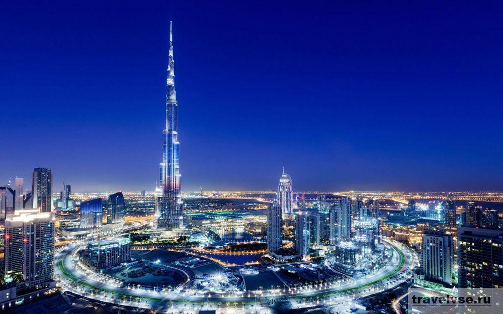 Burj Dubai в Арабских Эмиратах
