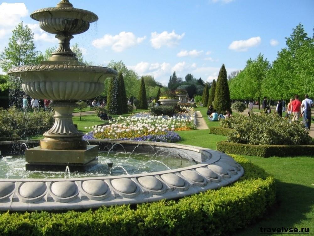 Гайд-парк в Англии