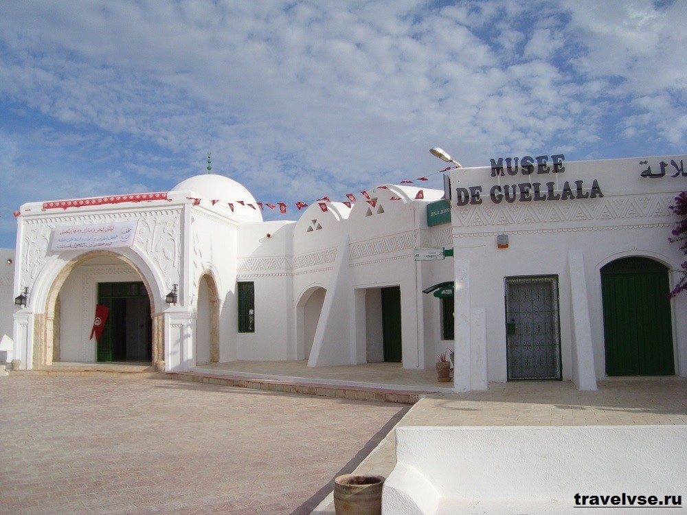 Геллала – деревня на юге острова Джерба