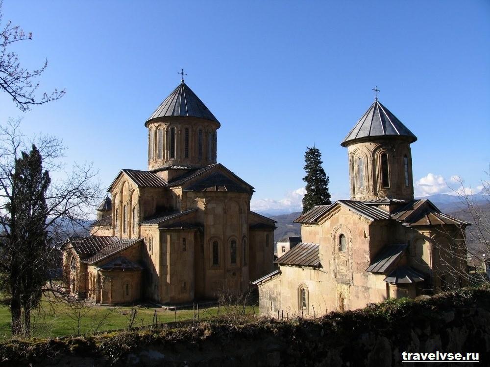 Монастырь Гелати в Грузии