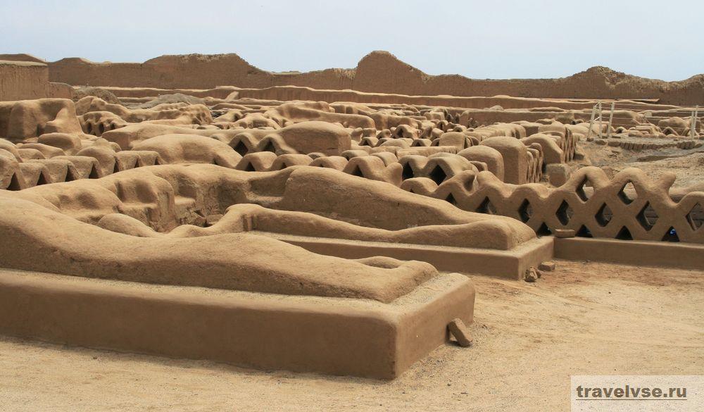 Город Чан-Чан в Перу