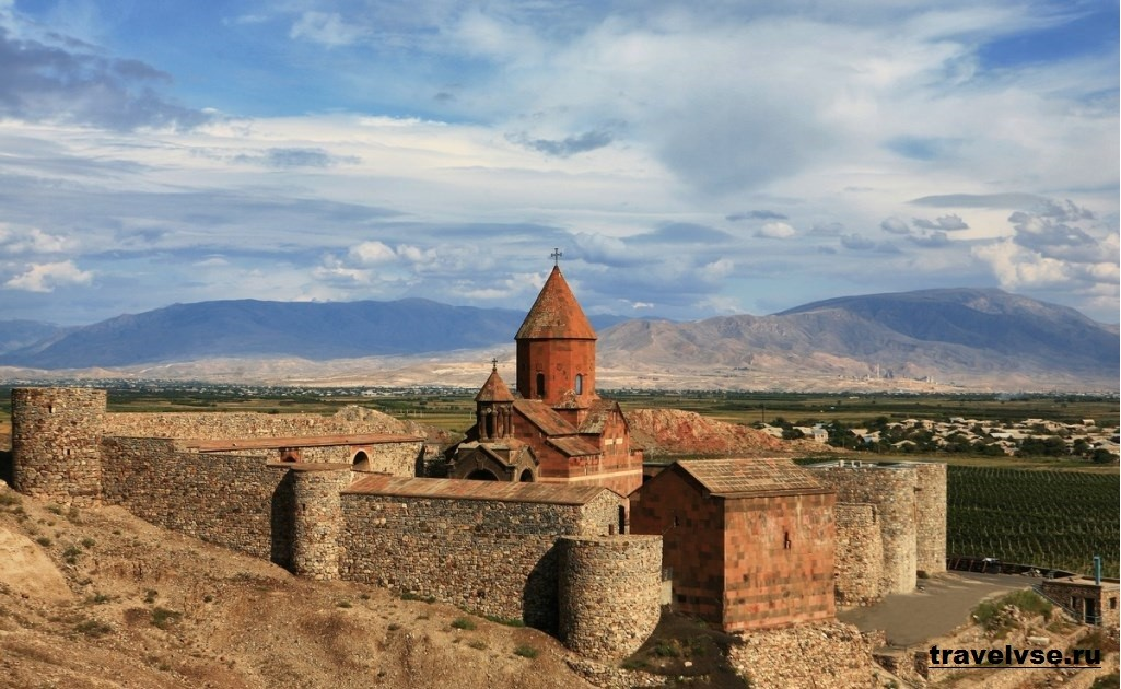 Хор Вирап в Армении