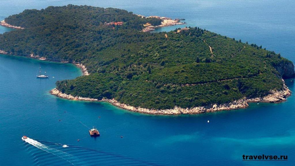 Остров Локрум в Хорватии