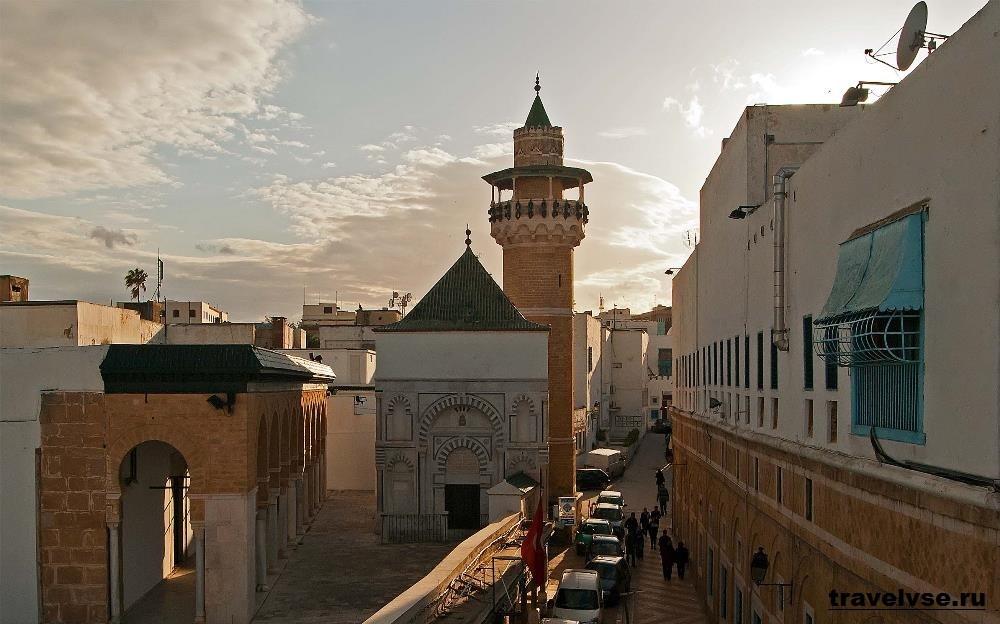 Медина в Тунисе