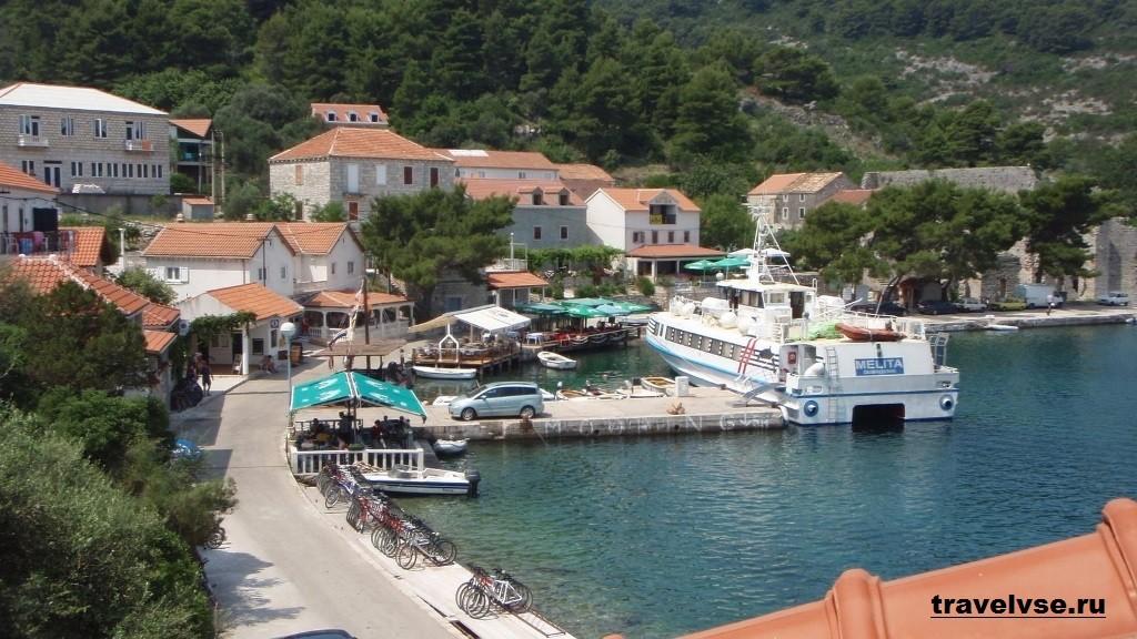 Остров Млет в Хорватии