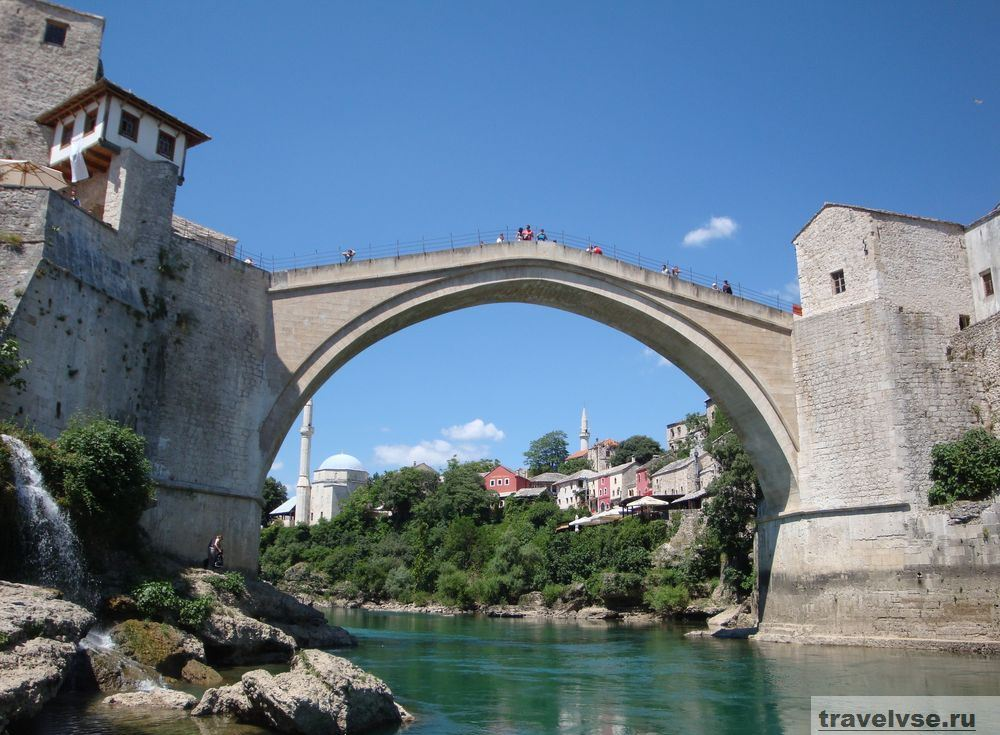 Мостар на территории Герцеговины