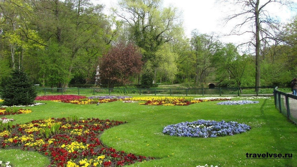 Парк Большой Тиргартен