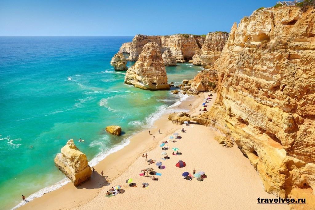 Пляж Прая да Марина