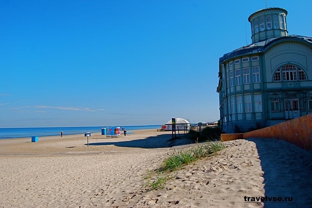 Пляжи Юрмалы