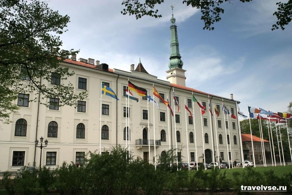 Президентская резиденция главы Латвии