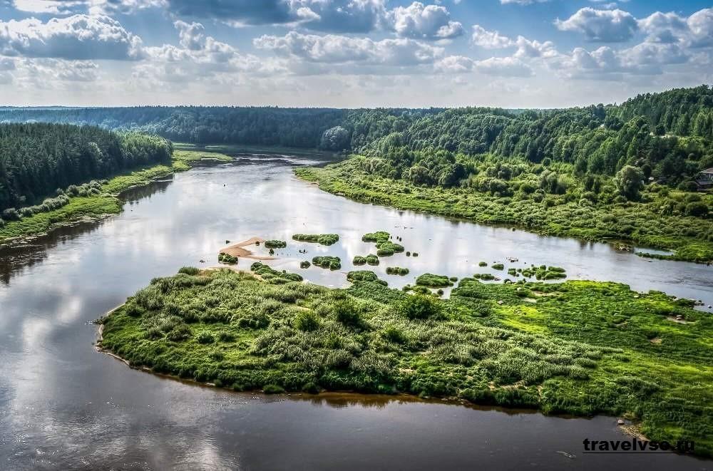 Природный парк Даугавас локи