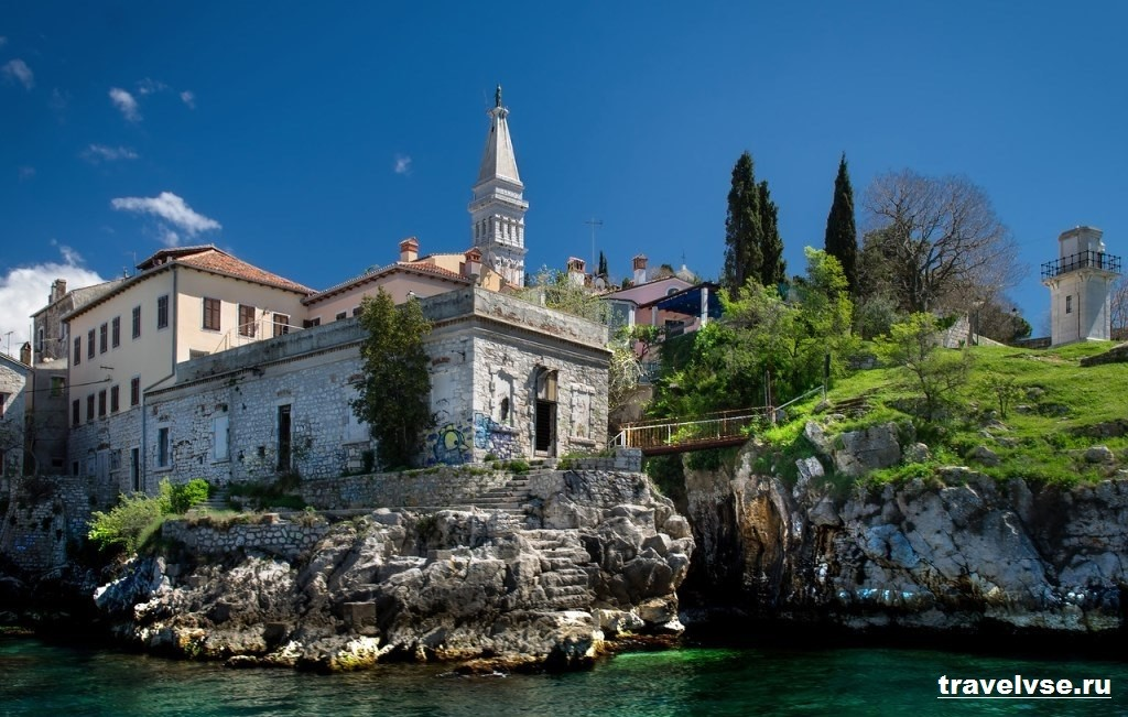 Город Ровинь в Хорватии
