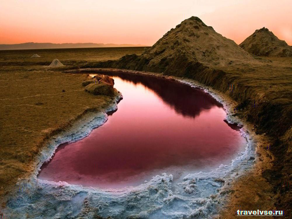 Озеро Шотт- Эль- Джерид