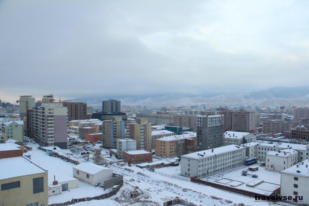 Улан-Батор зимой