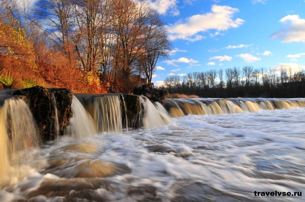 Водопад на реке Венте