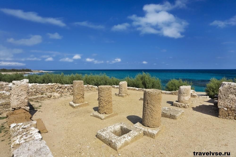 Город Керкуан в Тунисе