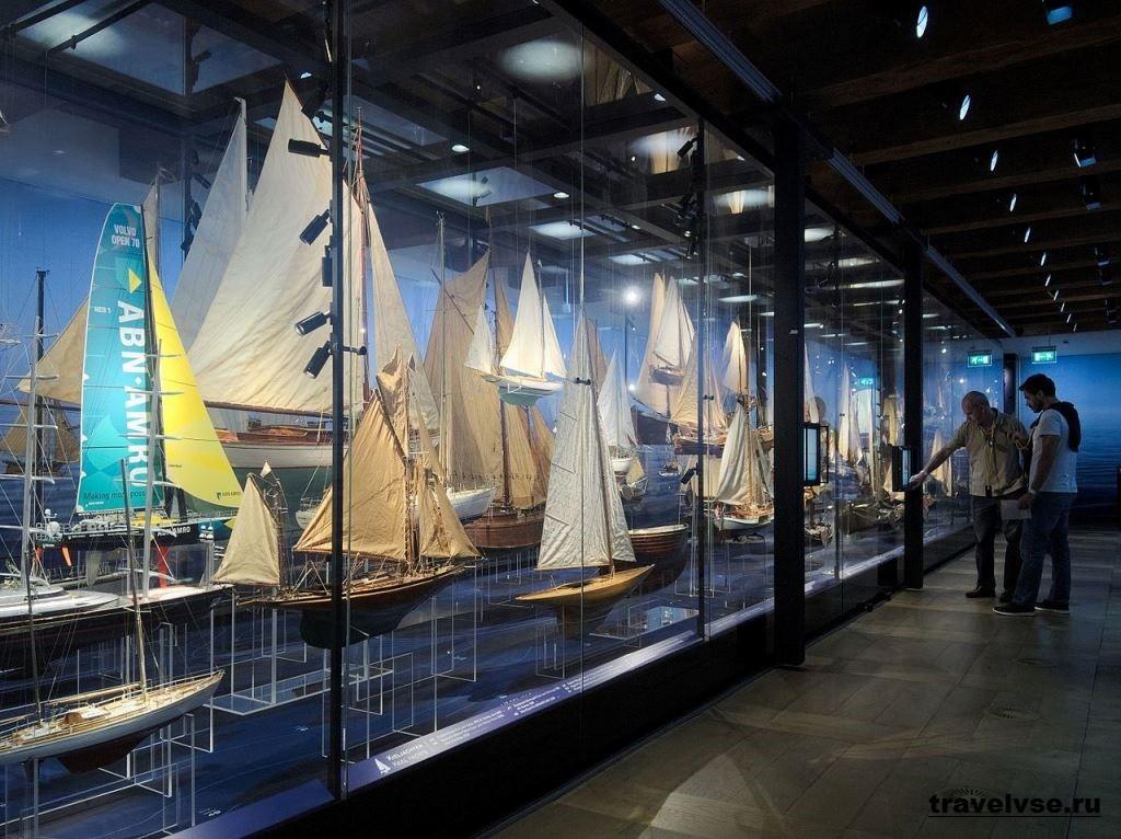 Музей судоходства в Амстердаме