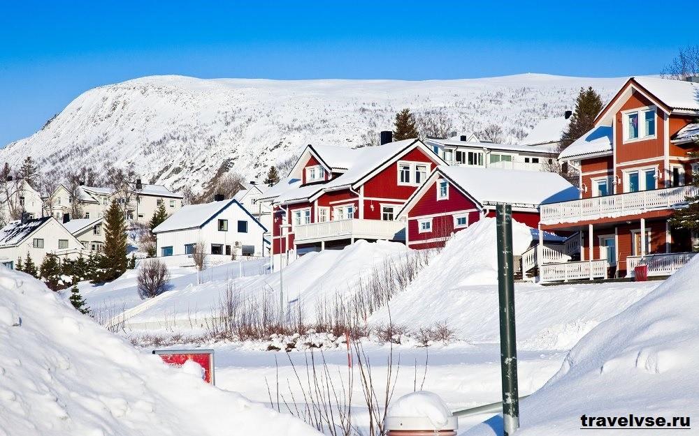 Зима в Осло