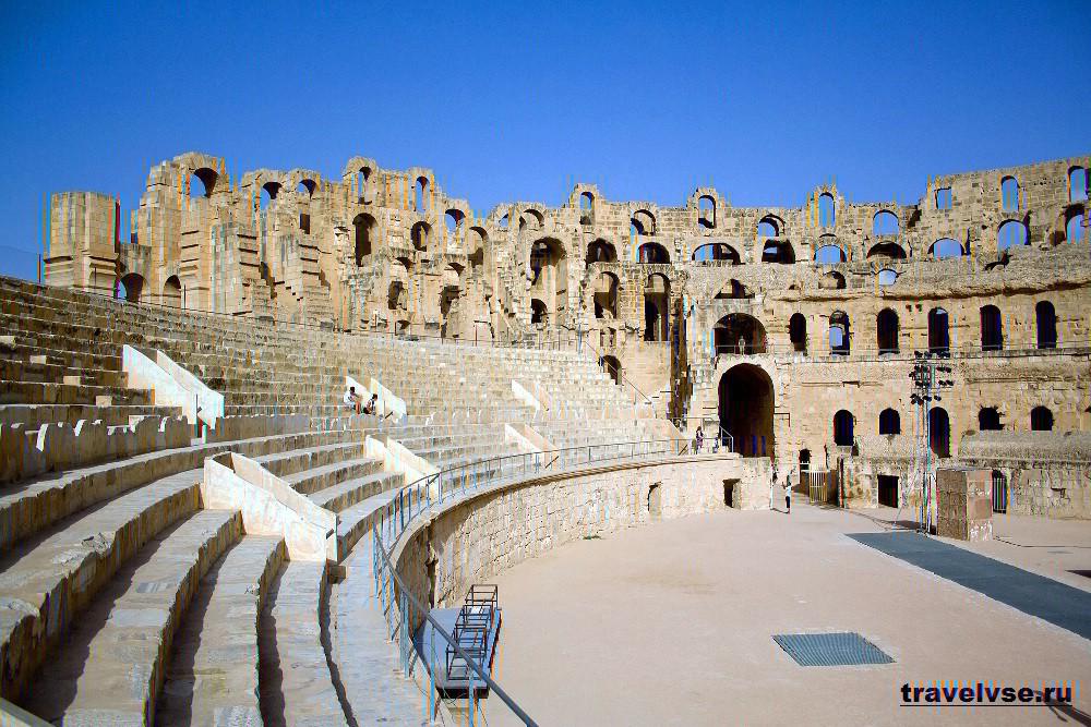 Амфитеатр в Эль- Джеме