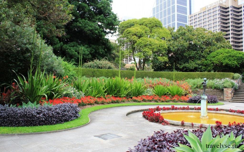 красивые сады мельбурна
