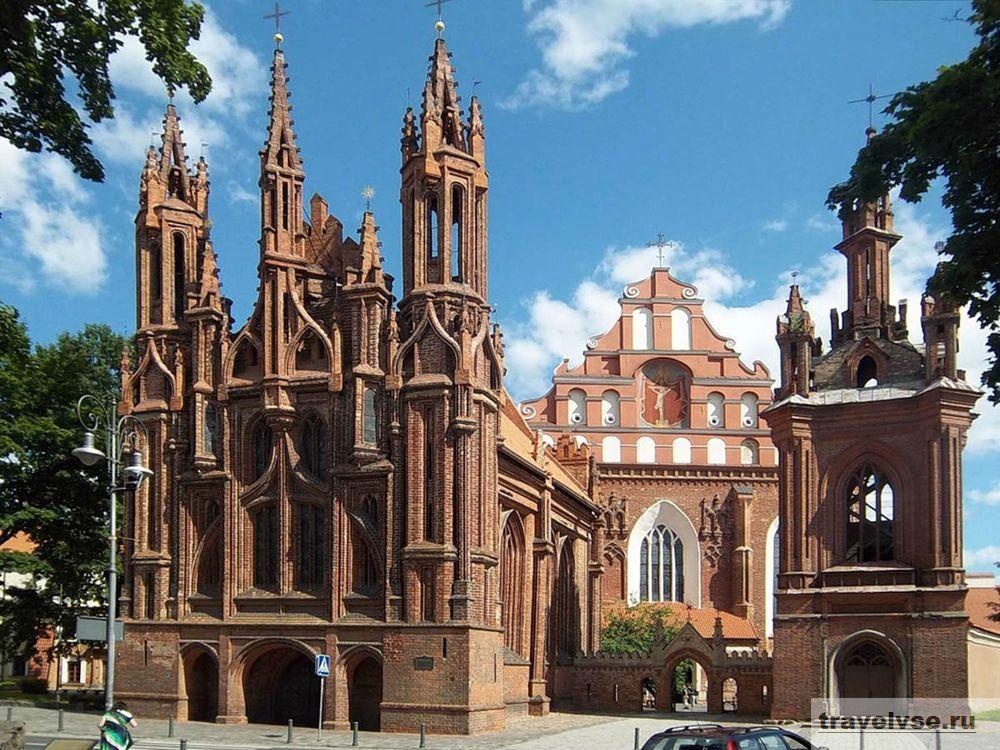 Вильнюсский костел Святой Анны