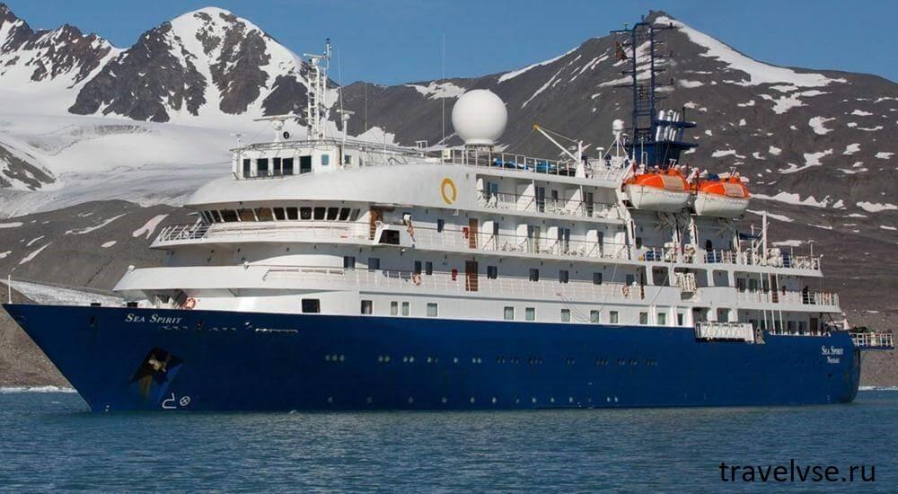 судно под названием Sea Spirit
