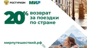 Объемы продаж туров с кэшбеком достигли отметки 1 млрд рублей
